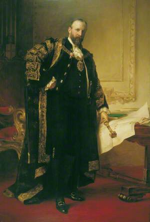 Sir Joseph Cockfield Dimsdale (1849–1912), Lord Mayor of London (1901)