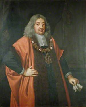 Sir William Hooker, Lord Mayor of London (1673)