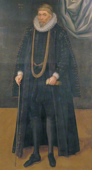 Sir John Garrard (c.1546–1625), Lord Mayor of London (1601)