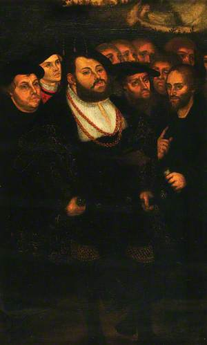 John Frederick the Magnanimous (1503–1554), with a Group of Reformers