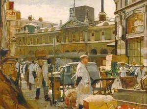 Billingsgate Market, London