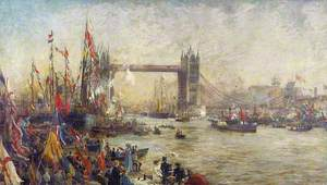 The Opening of Tower Bridge, London, 30 June 1894
