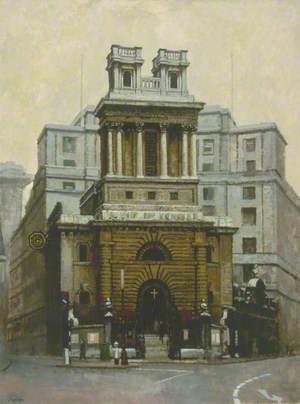 Hawksmoor Baroque, St Mary Woolnoth, London