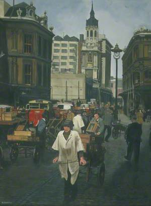 Lower Thames Street Looking West, London