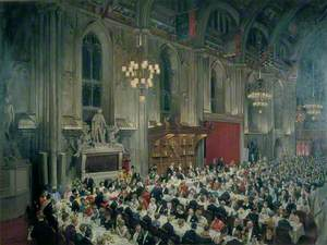 The Commonwealth Prime Ministers' Banquet, 13 January 1969