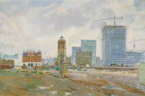 Out of the Ruins at Cripplegate, London