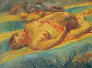 Nude Lying on Her Back