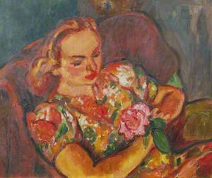 Elisabeth White (1917–1950), Holding a Rose