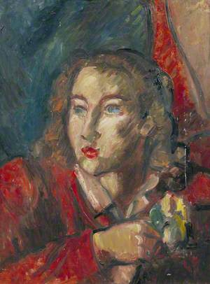 Mary Keene (1921–1981),  in Red