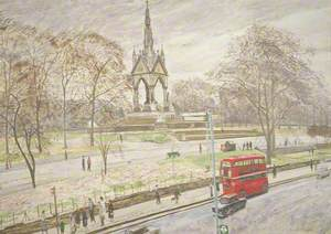 The Albert Memorial, London