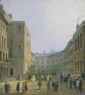 Inside the Debtors' Prison, Whitecross Street, London