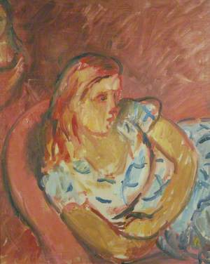 Young Girl in an Armchair