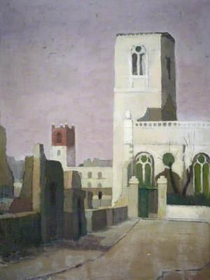 St Mary Aldermanbury, London