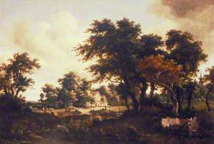 Wooded Landscape with the Ruins of a House