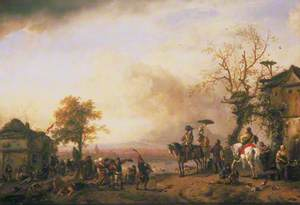 Landscape with a Fair