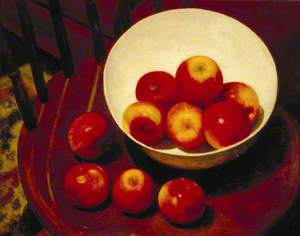 Apples in a Bowl