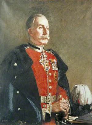 Lieutenant-Colonel Sir Cecil Bingham Levita (1867–1953), Chairman of the London County Council (1928)