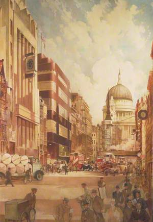 Fleet Street, London, 1930s
