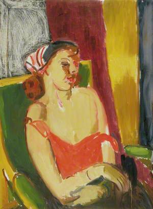Woman with a Headscarf
