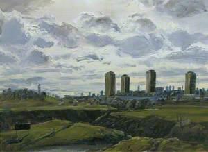 Wide Landscape (Hackney Marshes)