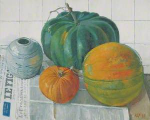 Still Life, Pumpkins