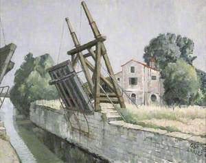 Bridge at Arles, France