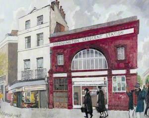 Mornington Crescent Station, London