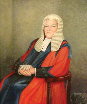 His Honour Judge Sir Lawrence Verney, Recorder of London