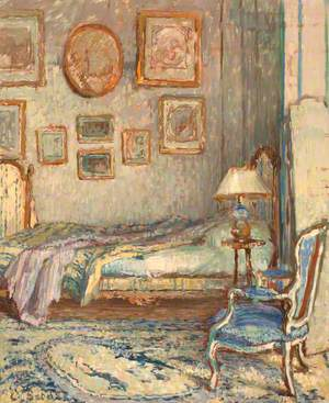 Bedroom Interior, Auppegard, France