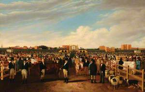 The Metropolitan Cattle Market, Copenhagen Fields, London