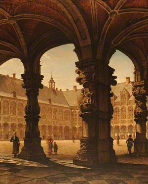 The Old Bishop's Palace, Liège, Belgium