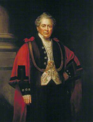 William Hunter (1781–1856), Lord Mayor of London (1852)