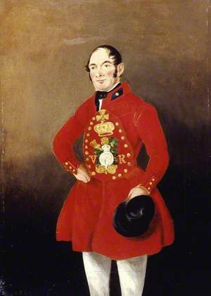 Portrait of a Royal Bargeman