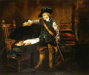 Cromwell Gazing at the Body of Charles I