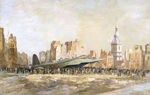 Stirling Bomber, Bow Church, London