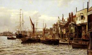 The Riverside at Limehouse, London