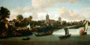 Chiswick from the River, London