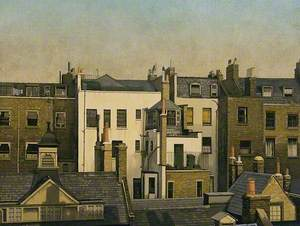The Backs of Houses, Harley Street, London