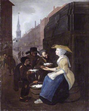 The Curds and Whey Seller, Cheapside, London