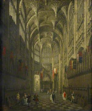 The Interior of Henry VII's Chapel, Westminster Abbey, London