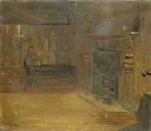 The Tap Room of the 'Baptist's Head Inn', Clerkenwell, London