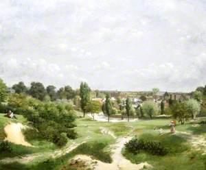 The Vale of Health, Hampstead Heath, London