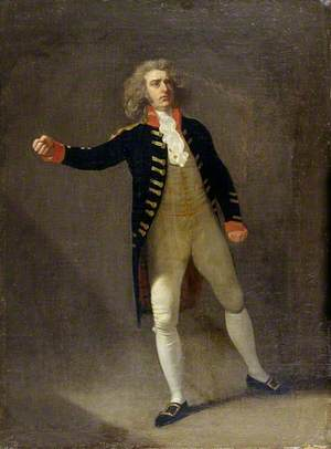 Joseph George Holman (1764–1817), as Chamont in Otway's 'The Orphan'