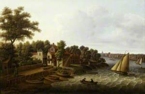 The Thames at Millbank, London