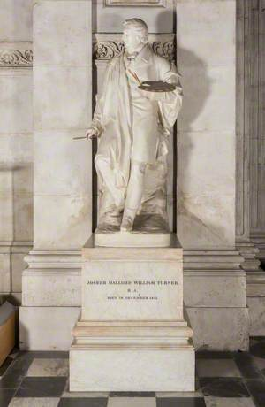 Monument to J. M. W. Turner (1775–1851)