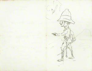 Illustrated Letter by Dick Partridge, 27th February 1900