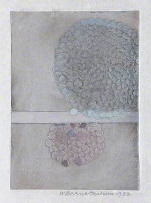 Spheric Theme, Lilac I, Collage 23