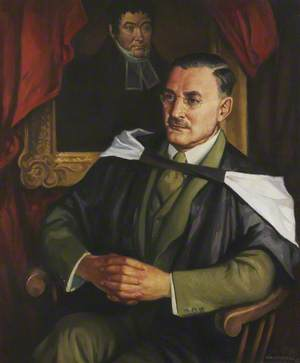 Harry Bell (1899–1984), with a Portrait of Dr Andrew Mylne
