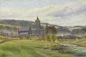 Dunblane Cathedral from the Nor