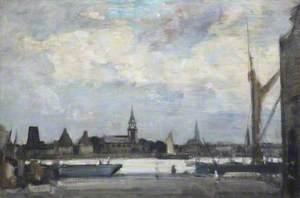 River Scene, St Neots